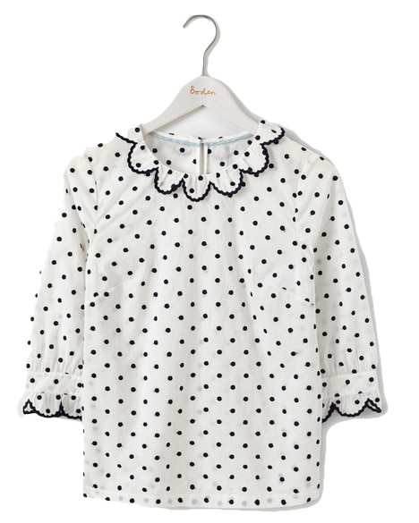 The Fashion Magpie Boden Polka Dot Blouse