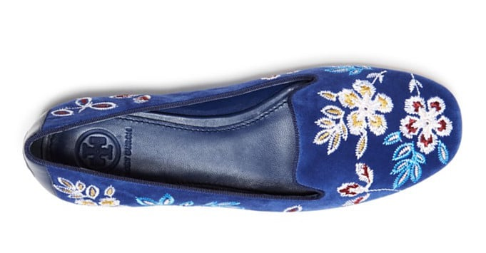 The Fashion Magpie Tory Burch Embroidered Floral Loafer