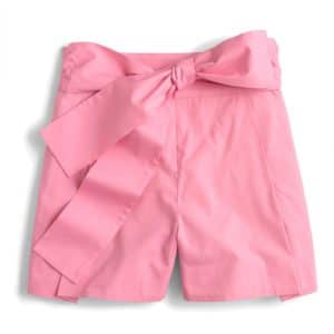 The Fashion Magpie JCrew Pink Bow Shorts