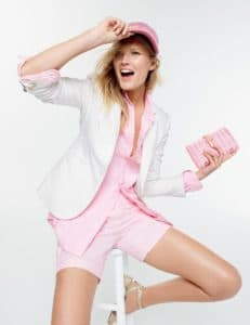 The Fashion Magpie JCrew Pink Ombre Look