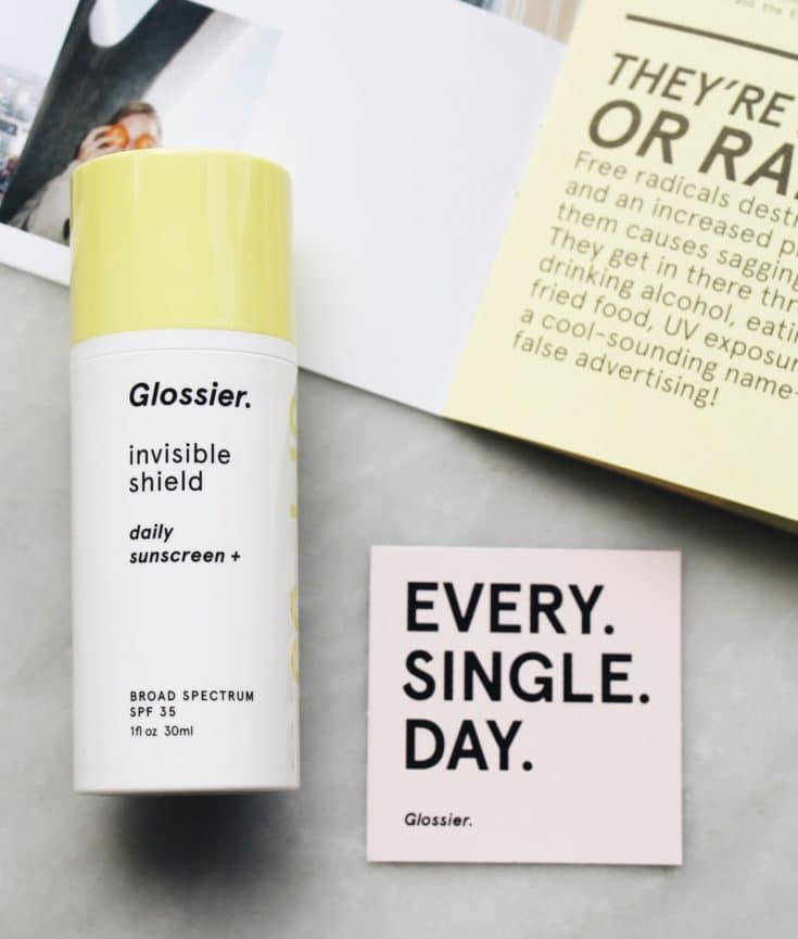 The Fashion Magpie Glossier Invisible Shield