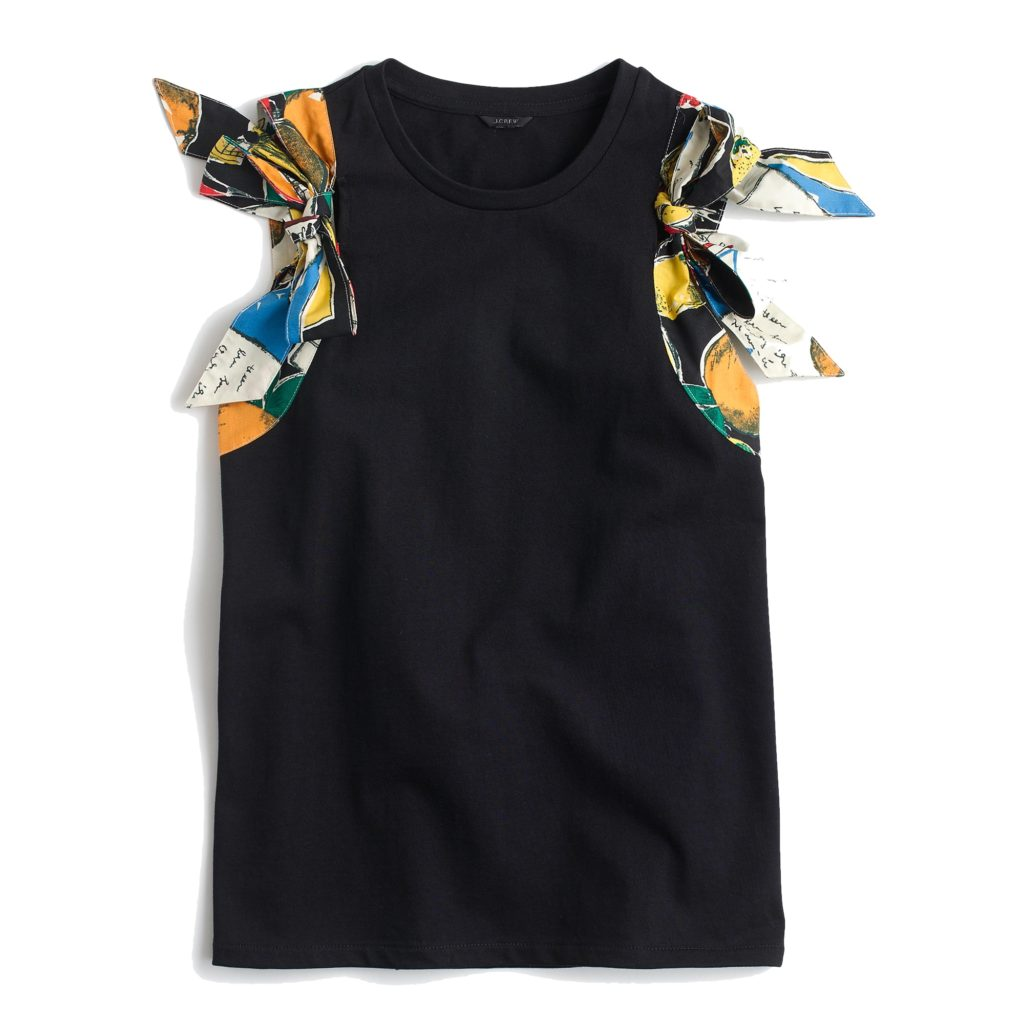 The Fashion Magpie JCrew Bow Top