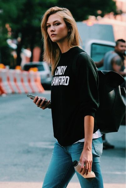 The Fashion Magpie Sweat Shirt Street Style 4