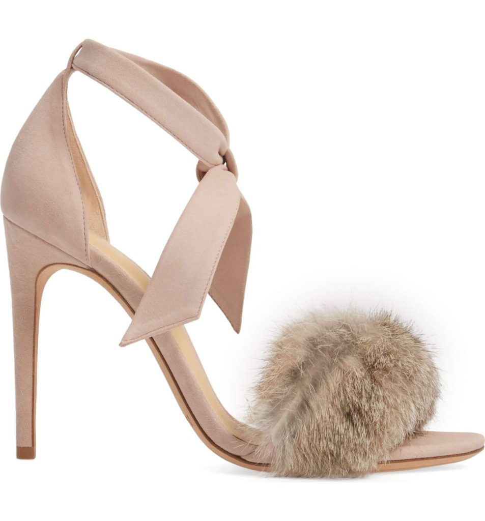 The Fashion Magpie Clarita Fur Heel
