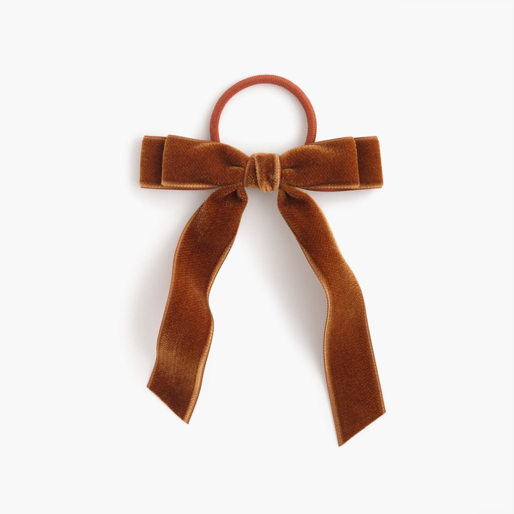 The Fashion Magpie JCrew Velvet Hairbow 3