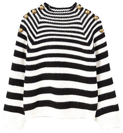 The Fashion Magpie Striped Sweater