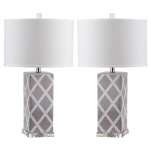 The Fashion Magpie Set of Table Lamps
