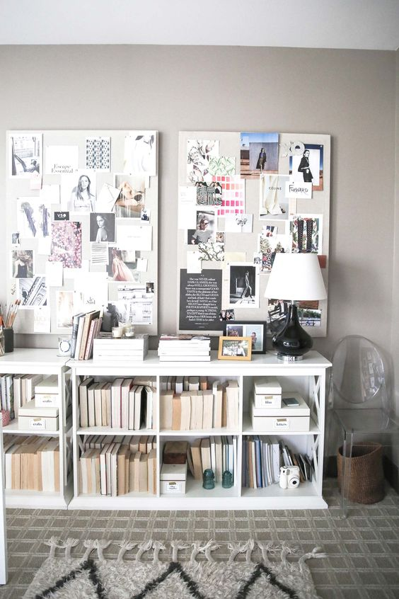 The Fashion Magpie Linen Pinboard 1