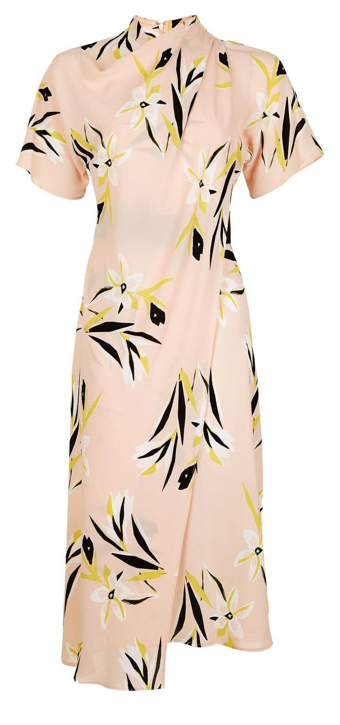 the fashion magpie floral silk dress topshop