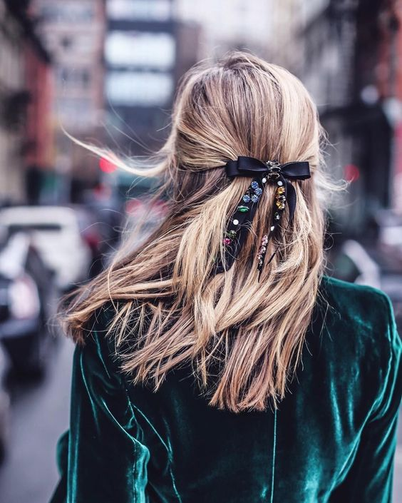 the fashion magpie hair bow