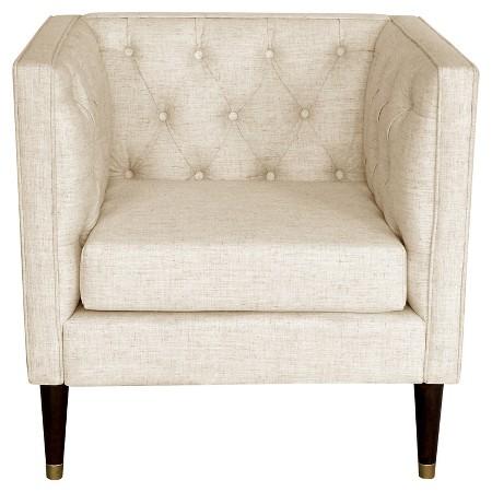 The Fashion Magpie Linen Chair
