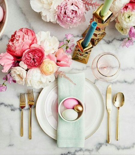 The Fashion Magpie Easter Tablescape 1