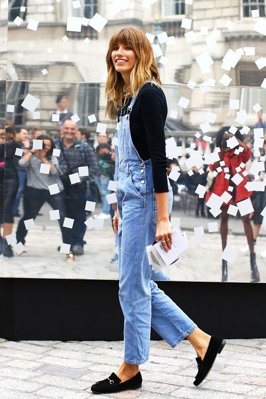 The Fashion Magpie Jean Overalls Street Style 2