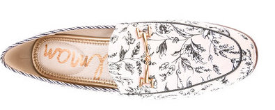 The Fashion Magpie Sam Edelman Floral Loafer