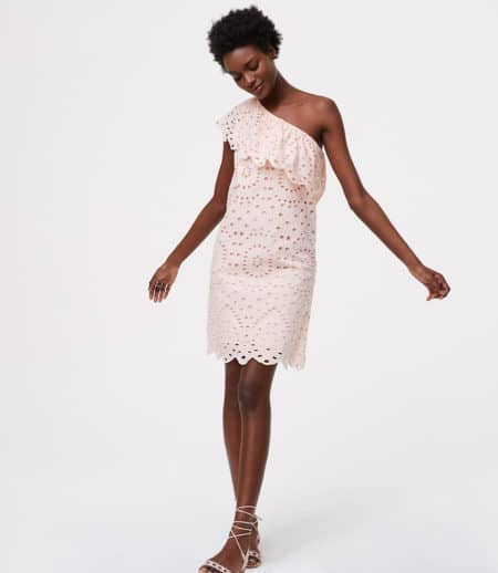 The Fashion Magpie Eyelet OTS Dress 1
