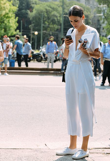 The Fashion Magpie Jumpsuit Street Style 1