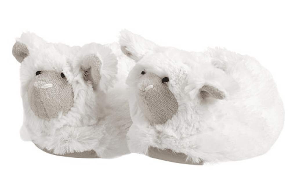 The Fashion Magpie Baby Lamb Slippers
