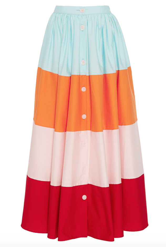 The Fashion Magpie MDS Stripes Skirt