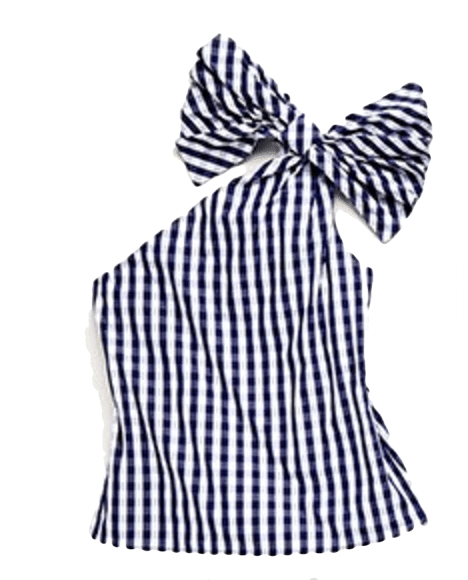 The Fashion Magpie Milly Gingham Top