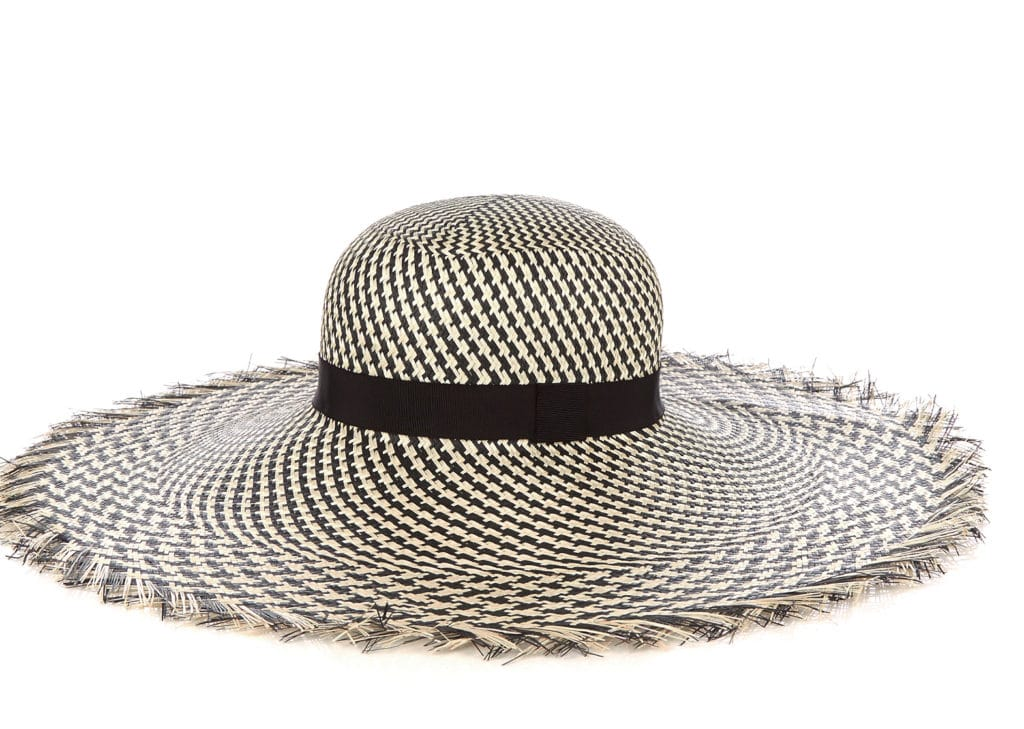 The Fashion Magpie Benoit Straw Hat
