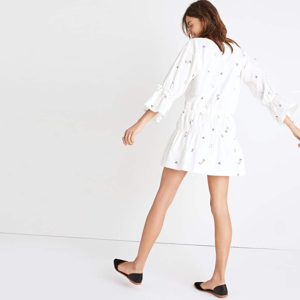 The Fashion Magpie Madewell Making Faces Dress 2
