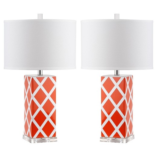 The Fashion Magpie Table Lamp Set