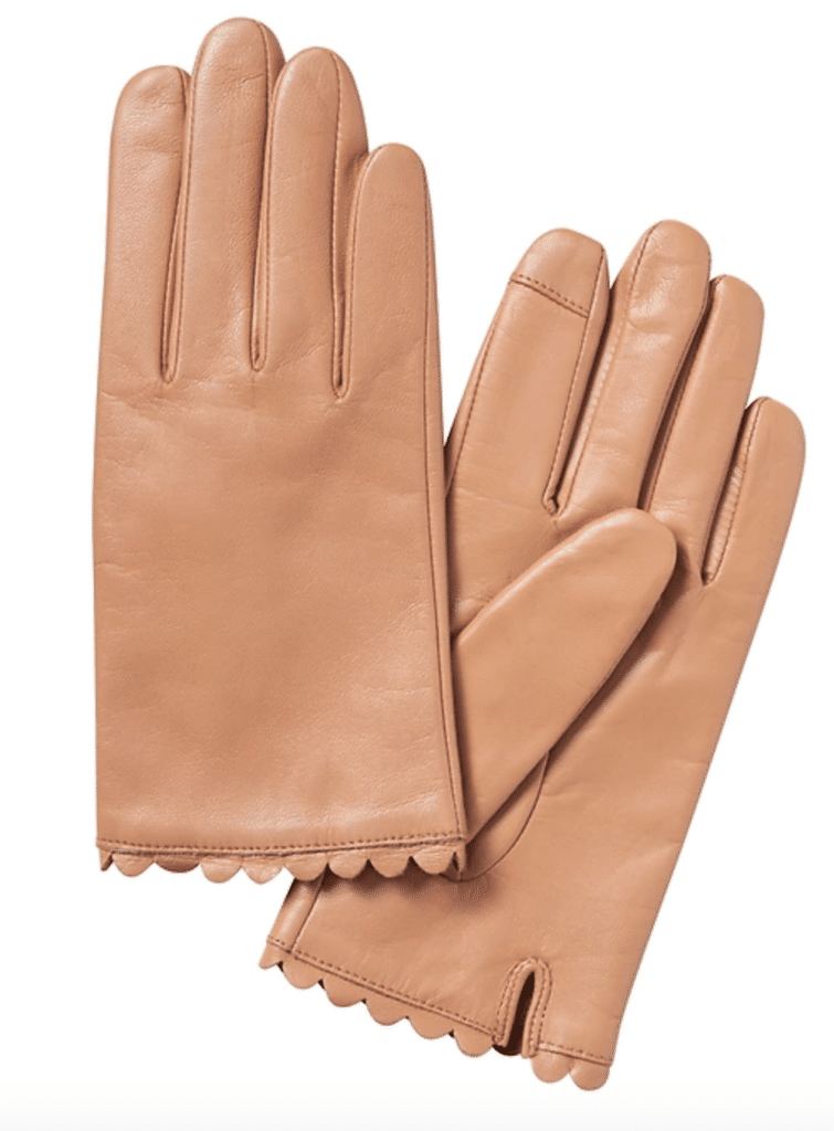 The Fashion Magpie Leather Gloves