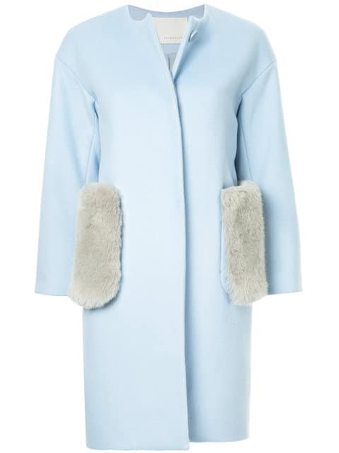 The Fashion Magpie Blue Jacket