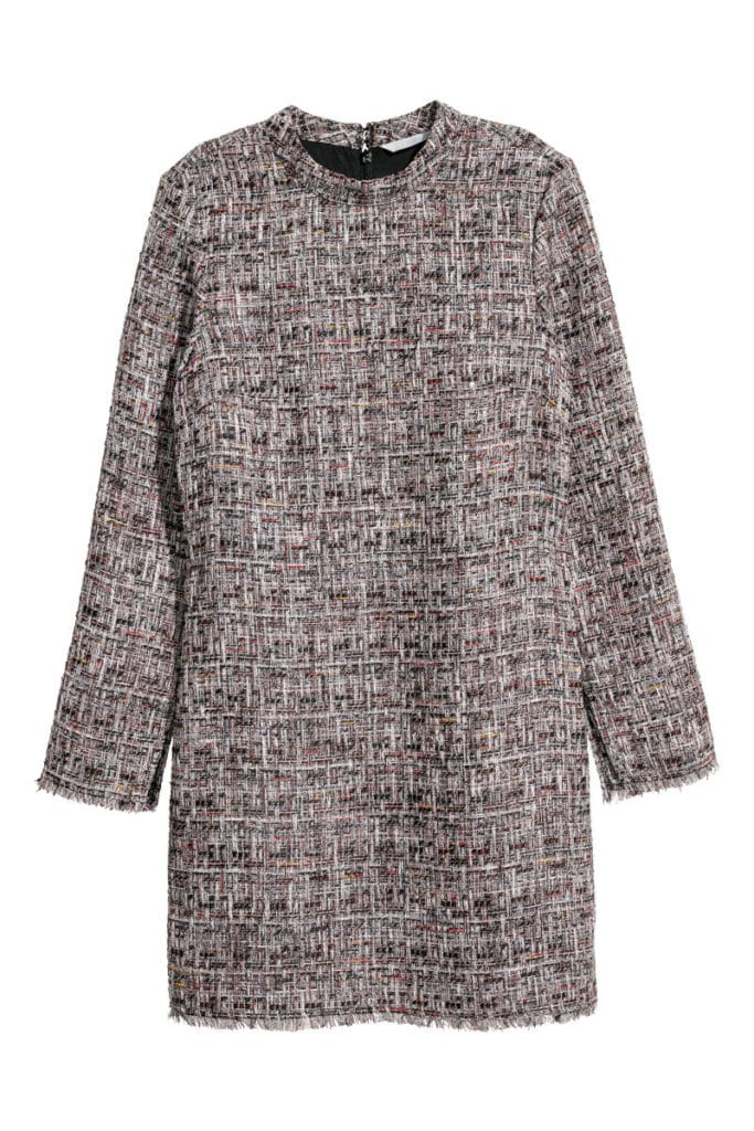 The Fashion Magpie Boucle Dress