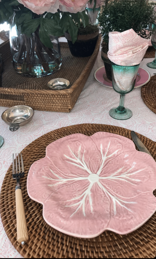 The Fashion Magpie India Amory Table Linens