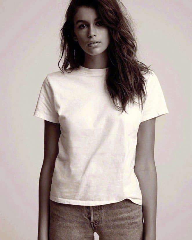 The Fashion Magpie Hanes Tshirt Kaia Gerber