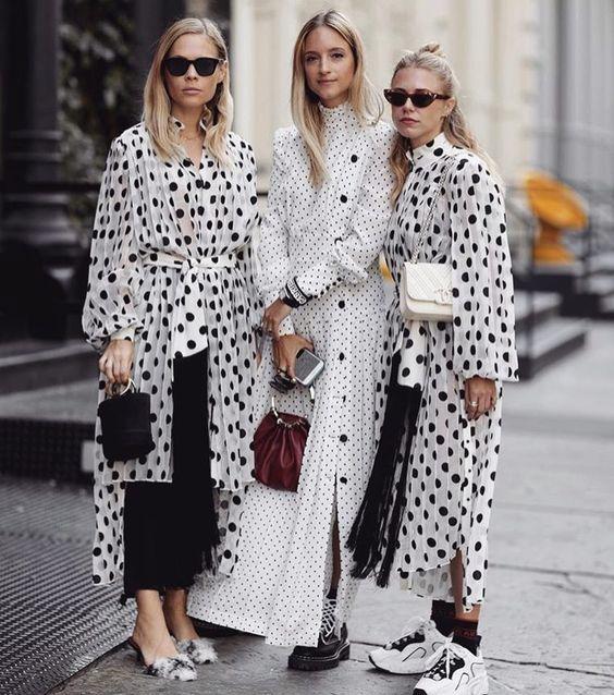 The Fashion Magpie Polka Dot Street Style 2