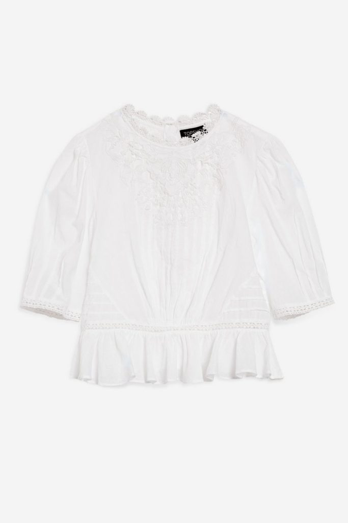 The Fashion Magpie White Lace Top