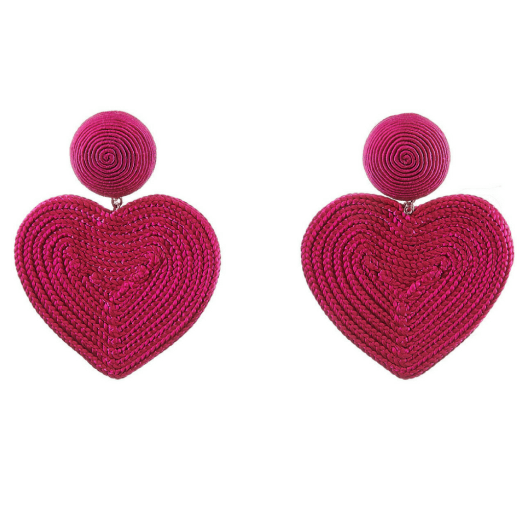 The Fashion Magpie RDR Heart Earrings 2