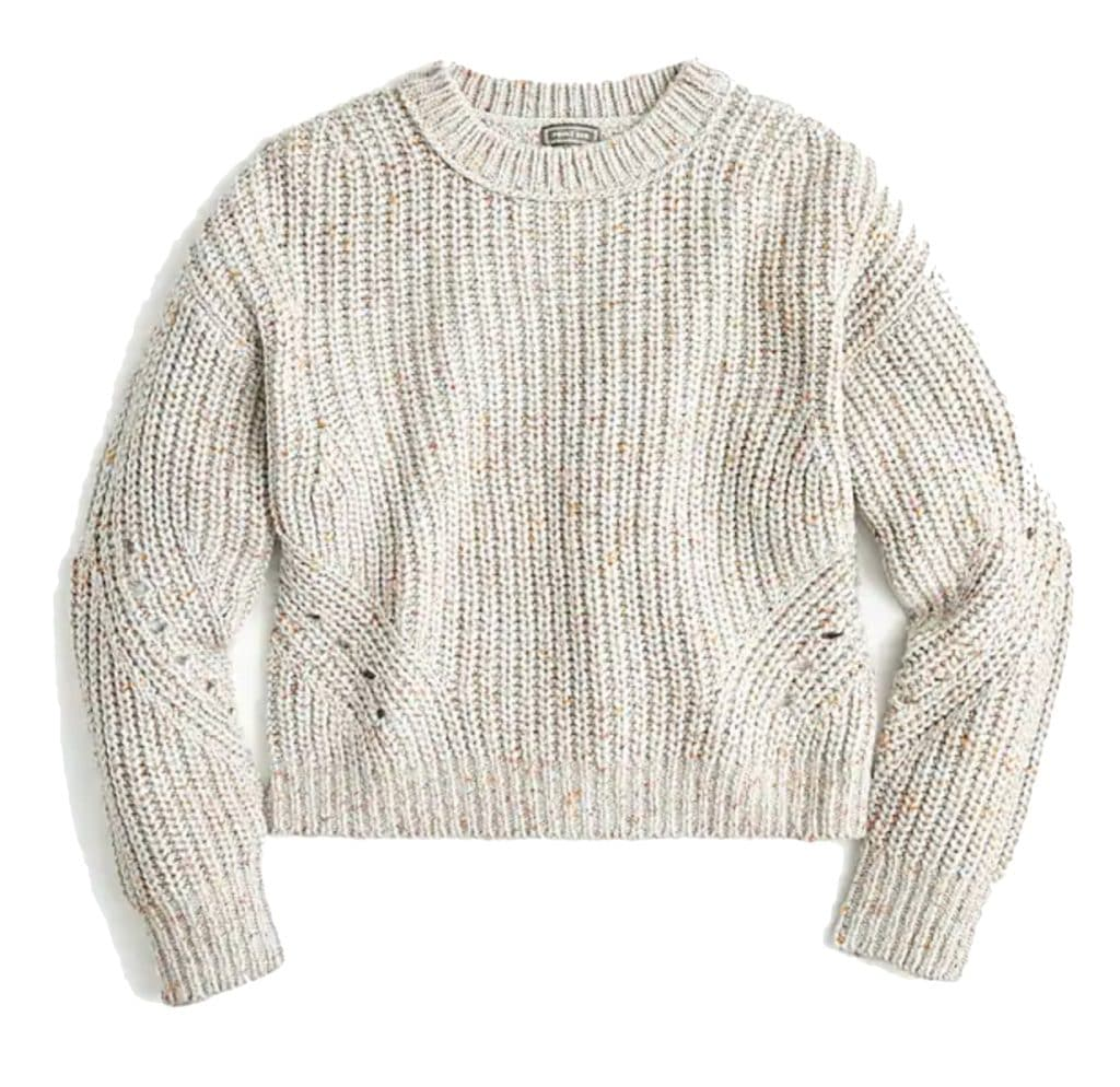 The Fashion Magpie J Crew Sweater