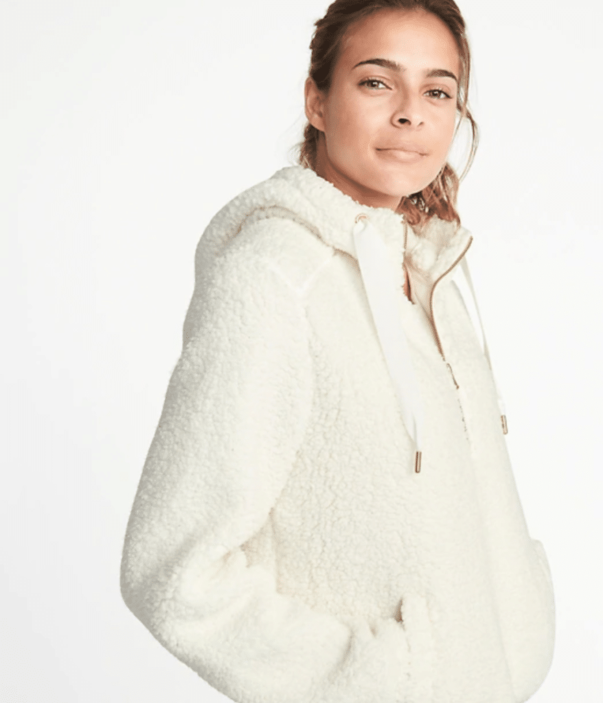 The Fashion Magpie Sherpa Fleece 1