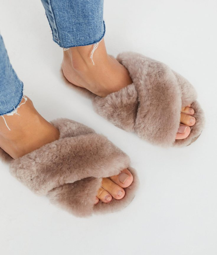 The Fashion Magpie Emu Slippers