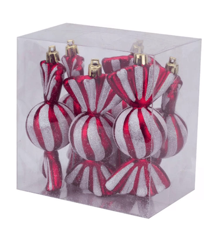 The Fashion Magpie Peppermint Christmas Ornaments 1