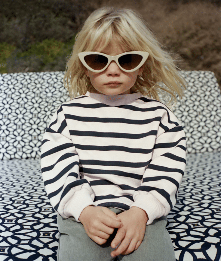 toddler striped sweatshirt