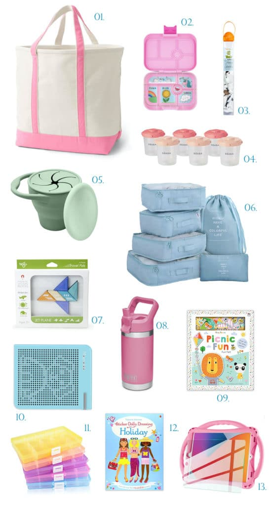 The Fashion Magpie Toddler Travel Activities and Gear