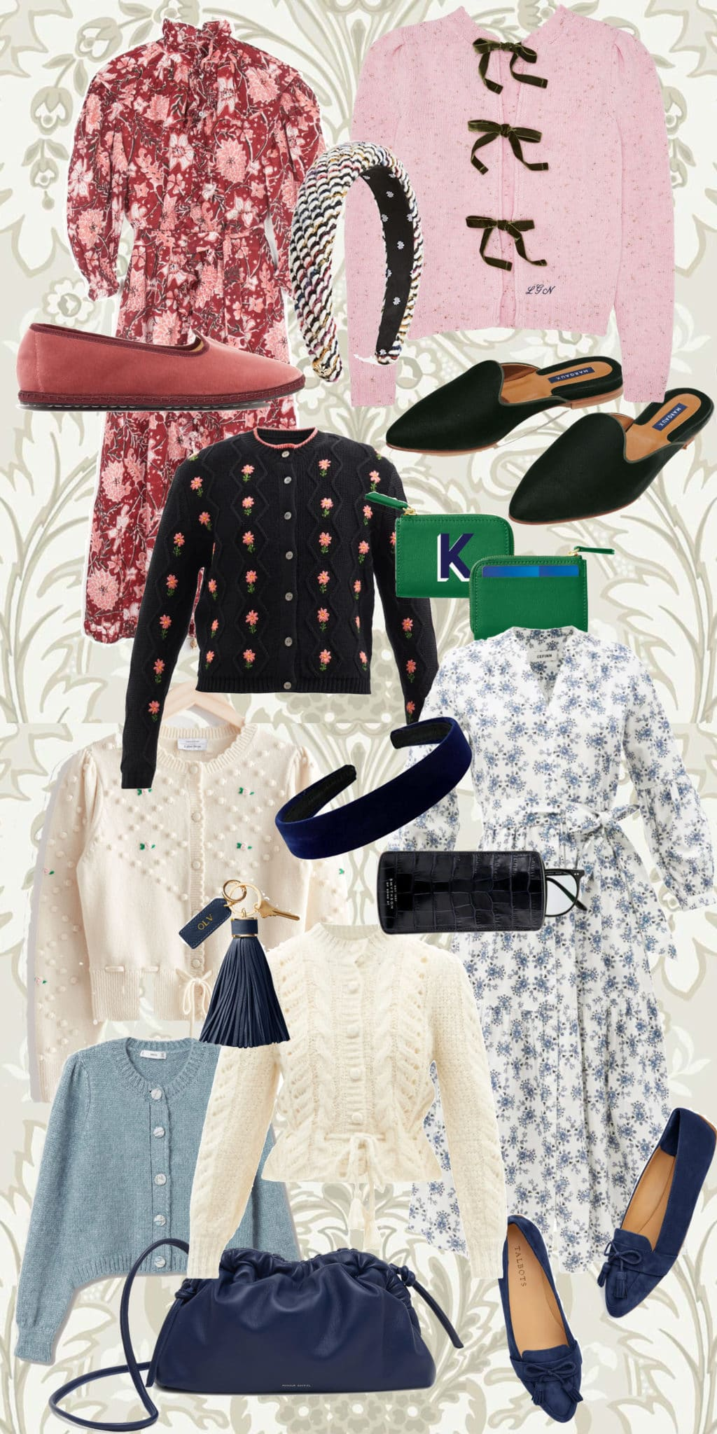 accessorizing summer dresses for fall